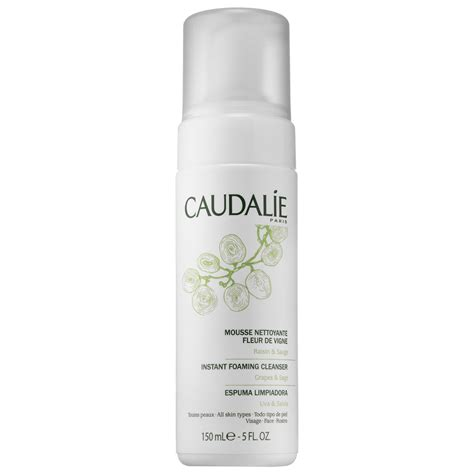 Caudalieinstant Foaming Cleanser how to use a cleanser the right way beautyeditor