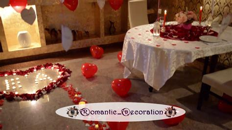 how to surprise him in bed romantic room decorations youtube