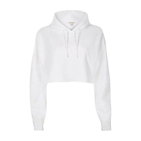 Cut Out Sleeve Crop Hoodie White S 1000 ideas about crop top hoodie on