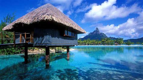 these over the water bungalows are coming to the caribbean descubre tu mundo destino isla bora bora lo mejor de la