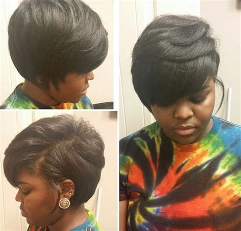 layered african american hair african american layered bob hairstyle womentrendingcom