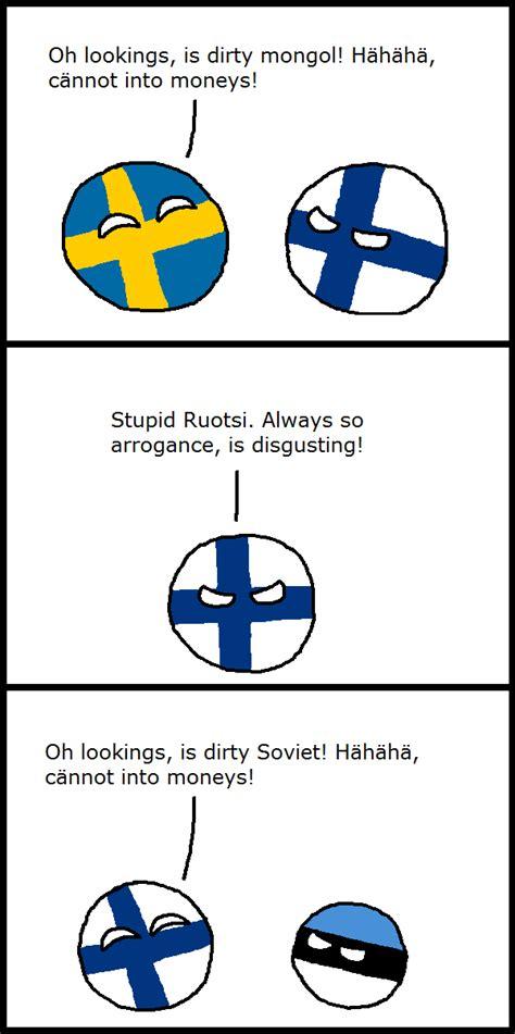 Finnish Meme - polandball 187 polandball comics 187 finnish idiocy