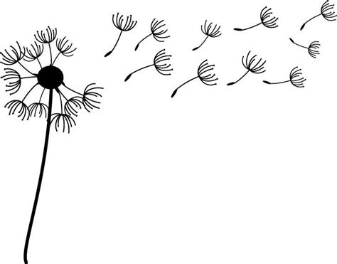 Wall Stickers Dandelion dandelion decal for your laptop