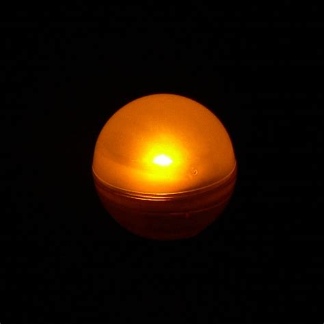 Orange Led Lights by Orange Berry Floating Led Light