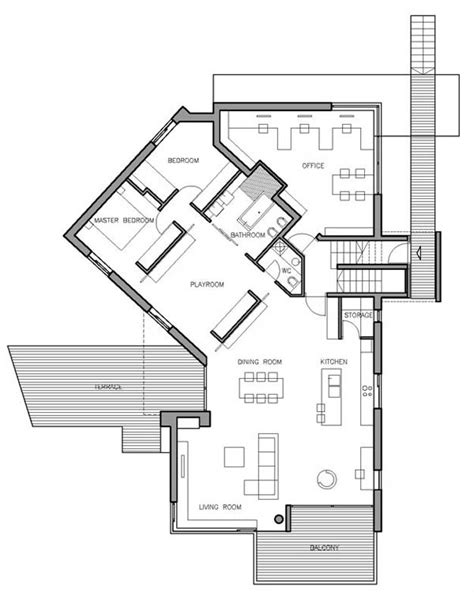 steep site house plans concrete croatian residence adorning a steep slope house