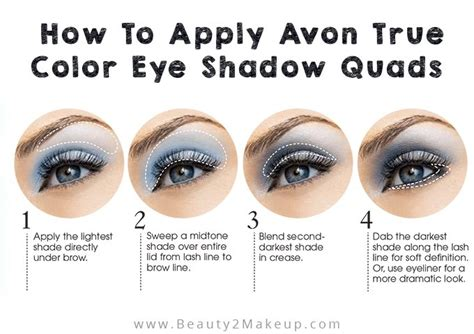 Eyeshadow How To Apply avon eyeshadow true color review