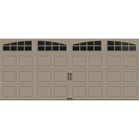 20 x 7 garage door clopay gallery collection 16 ft x 7 ft 18 4 r value