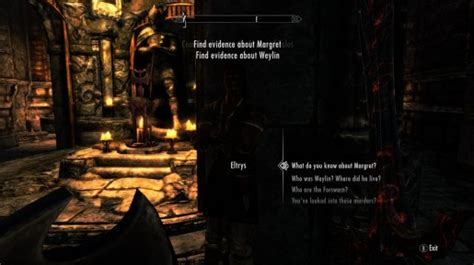 skyrim eltrys room skyrim sidequest uncovering the forsworn conspiracy just push start