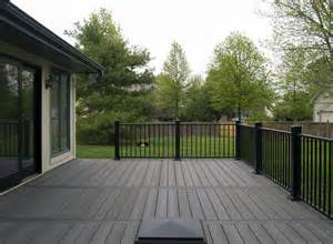 Handrail Systems For Decks Evergrain Deck Pictures Built By All Weather Decks