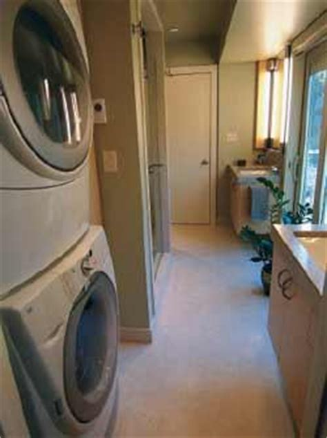 expanding  narrow laundry room jlc  exteriors