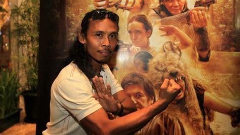 aktor film silat indonesia aktor yayan ruhian berharap 14 medali emas pencak silat