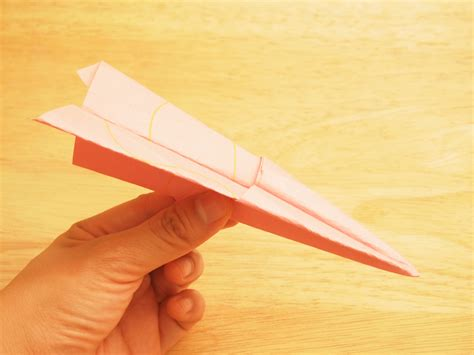 Steps To Paper - 3 ways to make a paper airplane wikihow