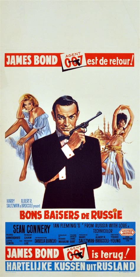film james bond film james bond from russia with love 007 1965 original
