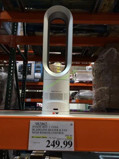 dyson fan heater costco dyson heater fan at costco costcochaser
