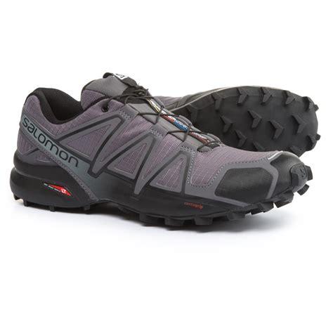 Salomon For 4 salomon speedcross 4 trail running shoes for save 46