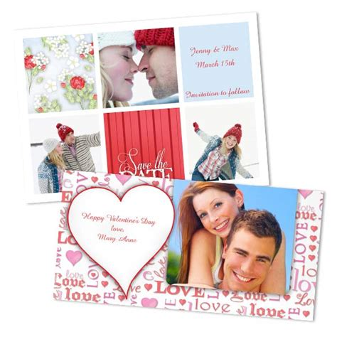 make your own valentines day card s day cards custom photo cards winkflash