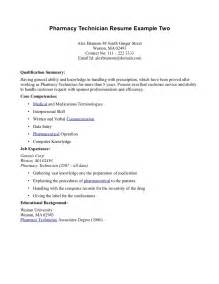 Certified Pharmacy Technician Cover Letter by Certified Pharmacy Technician Resume Sle Resumes