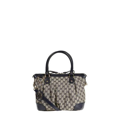 Gucci Gg Small gucci handbag sukey small across bag gg in gray blue lyst