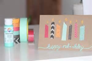 diy birthday card by me card ideas