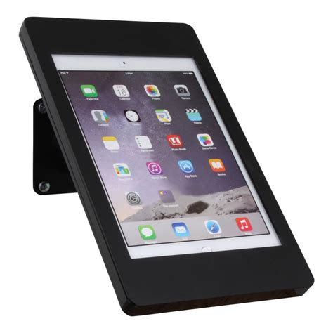 ipad pro desk stand ipad pro 12 9 quot wall or desk mount fino black with exhibishop