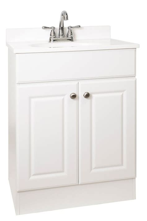 24 inch bathroom vanity home depot easy vanity 24 inch w easy vanity combo with cultured
