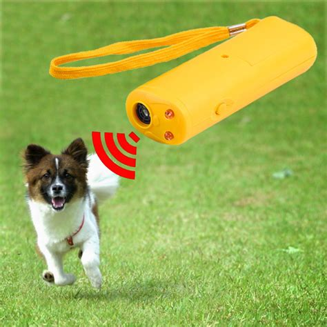 anti barking led ultrasonic anti bark barking repeller trainer device 3 in 1