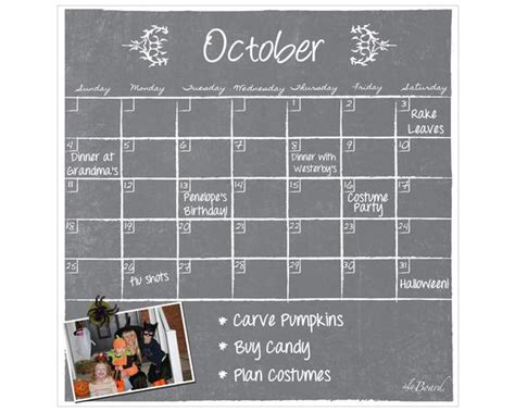 Decorative Calendar Boards