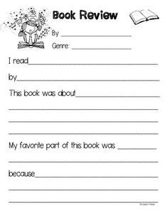 Book Review Card Template by Book Reports Book Report Templates And Non Fiction On