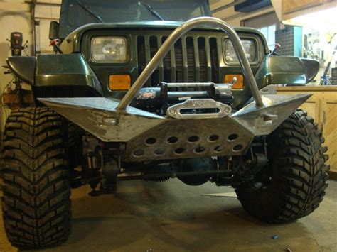 homemade jeep bumper diy jeep yj bumper kits google search jeep pinterest