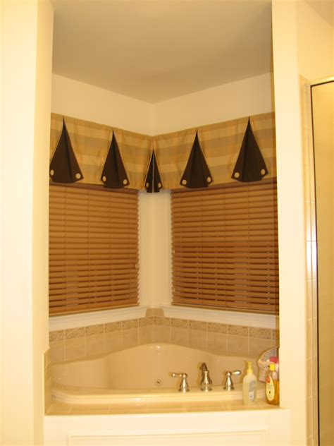 Bathroom Corner Window Treatments Portfolio Distinctive Designs