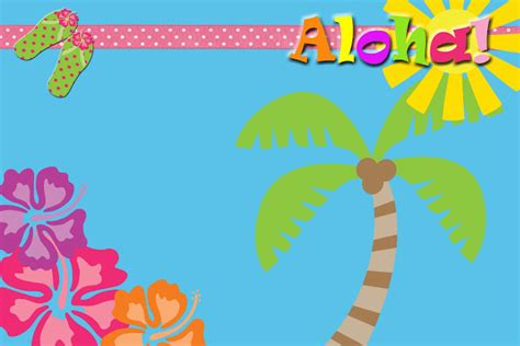 luau invitations templates free the fast friday freebie luau invitation