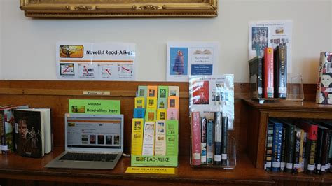 ebsco reception room customer story dover library novelist ebscohost