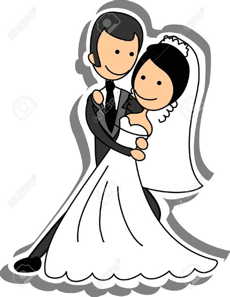 Wedding Clipart by Wedding Picture And Groom In Royalty Free