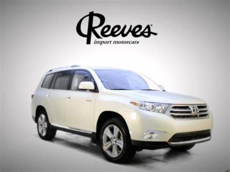 2013 Toyota Highlander Mpg Buy Used 2013 Toyota Highlander Low Mileage 3 5l Bluetooth