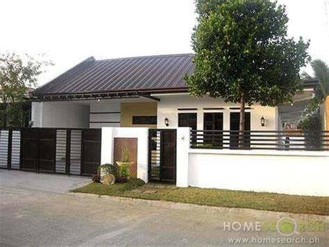 house design zen type modern bungalow house designs philippines small bungalow