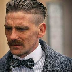 shelby haircut arthur shelby peaky blinders pinteres