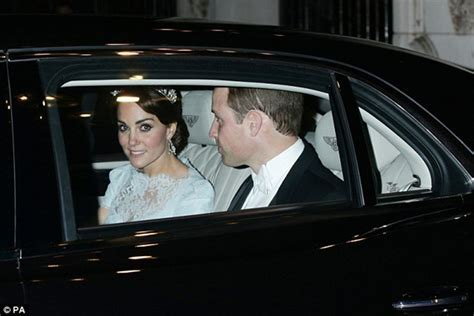 Kate Middleton Attends Diplomatic Reception Donning