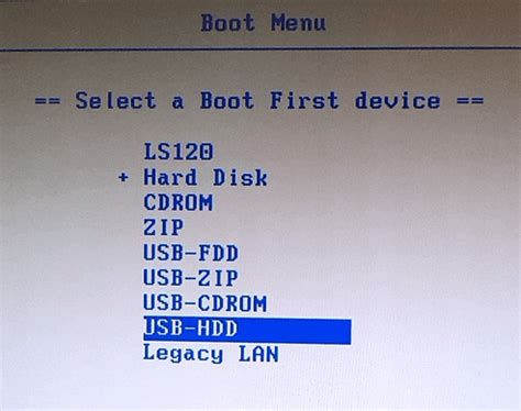 the boat menu boot your computer from usb drive
