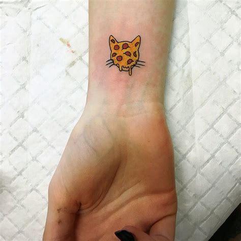 small pizza tattoo best 25 pizza ideas on drawings