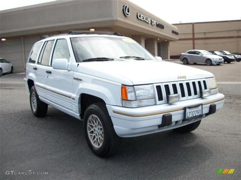1995 jeep grand cherokee 1995 stone white jeep grand cherokee limited 4x4 29097767