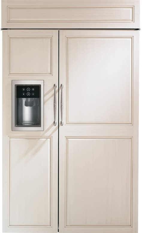 refrigerators that take cabinet panels luxury refrigerators that accept cabinet panels