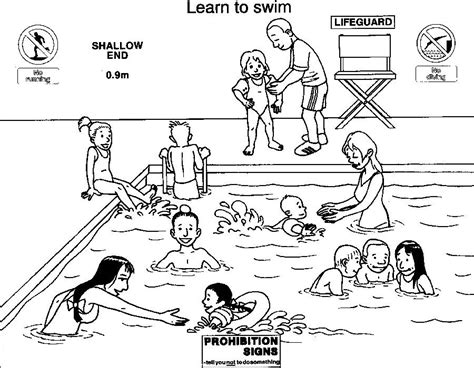 Coloring Pages Water Safety | thames police water safety colouring book page