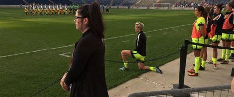 us soccer player us soccer joins kaepernick in national anthem protest