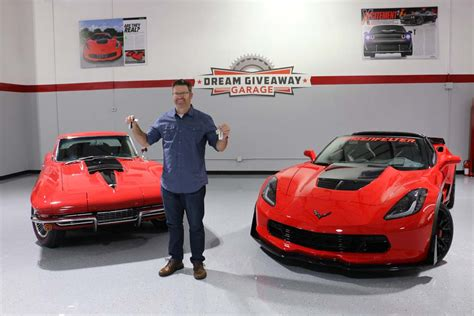 Dream Giveaways - utah man wins two corvettes plus cash in the corvette dream giveaway corvette sales