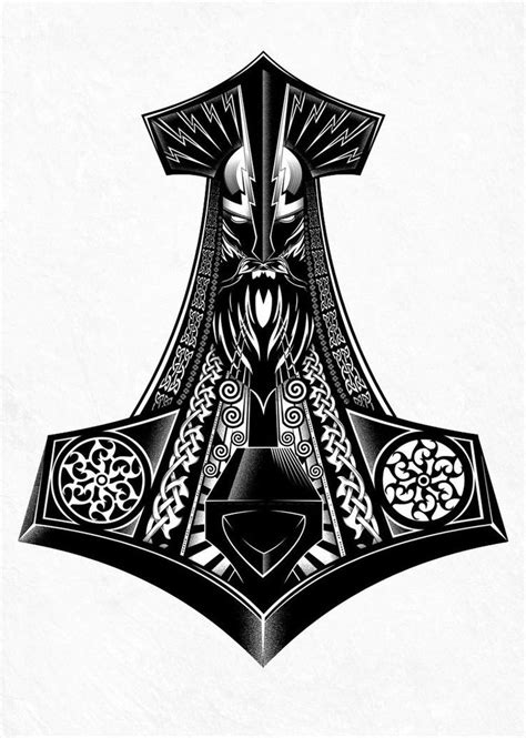 thor hammer tattoo designs 25 best ideas about thor hammer on