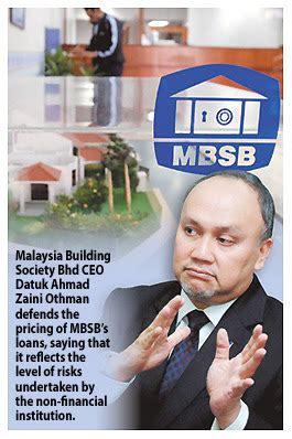 housing loan information loan information 2012 mbsb housing loan