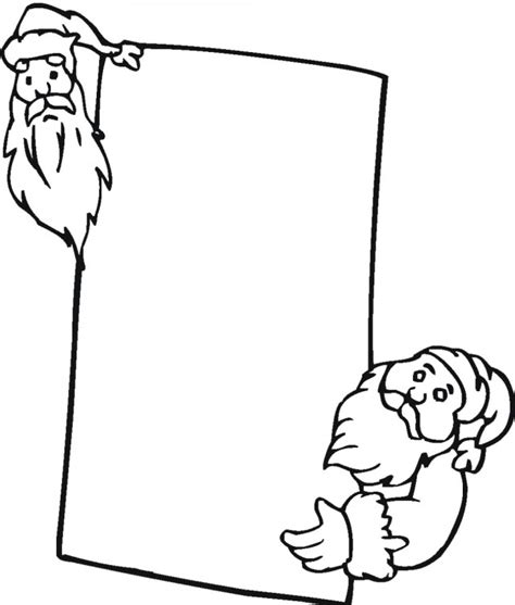 Christmas Colouring Card Santa Sleigh Free Printable Printable Cards Coloring Pages