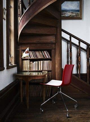 spiral staircase bookcase nook home garden