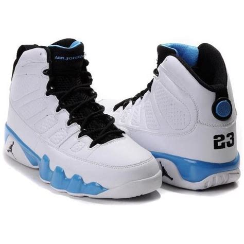 air retro 6 baby blue air 9 retro sneakers white baby blue black