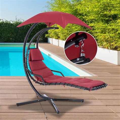 couch hammock outsunny swing chair hanging hammock chaise outdoor stand